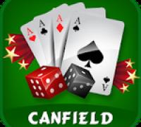 Canfield Solitaire spielen