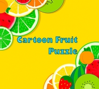 Fruit Cartoon Puzzle spielen