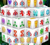Mahjong Connect 3D spielen