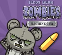 Teddybär Zombies Maschinengewehr spielen