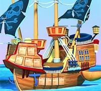 Top Schießen Das Piratenschiff spielen