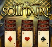 Forty Thieves Solitaire spielen